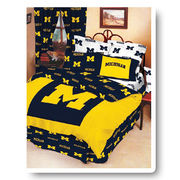 College Covers University of Michigan Queen Size Comforter