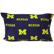 College Covers University of Michigan Standard Pillow Case