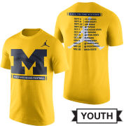 Jordan University of Michigan Football Youth 2017 Season Tee