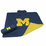 Logo University of Michigan All Weather Blanket