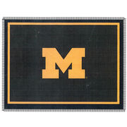Boxercraft University of Michigan Block M Throw Blanket