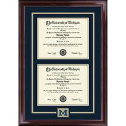 University of Michigan Diploma Frame: Spirit Encore [Dual Bach/Masters]