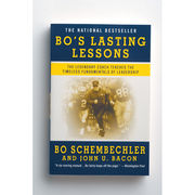 Bo's Lasting Lessons Book By Bo Schembechler and John U. Bacon