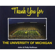 Book: Thank You for the University of Michigan by John & Polly Hoffman