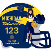 University of Michigan Book: Michigan Wolverines 123- My First Counting Book