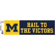 Pine University of Michigan Hail to the Victors Bumper Sticker