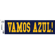 Pine University of Michigan Spanish Go Blue Bumper Sticker