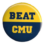 MCM University of Michigan Beat Central Michigan University Button