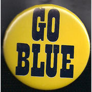 McCloud University of Michigan Go Blue Button