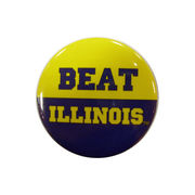 MCM University of Michigan Beat Illinois Button