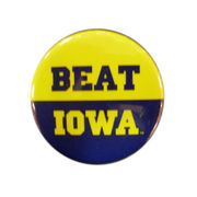 MCM University of Michigan Beat Iowa Button