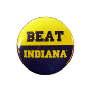 MCM University of Michigan Beat Indiana Button