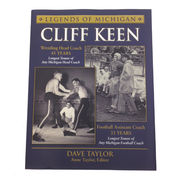 University of Michigan Book: Legends of Michigan- Cliff Keen
