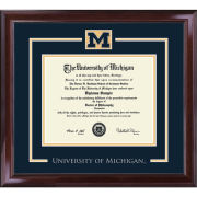 University of Michigan Diploma Frame: Church Hill Classics Spirit Encore [Bachelors/Masters]