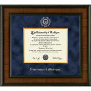 University of Michigan Diploma Frame: Presidential [Bach/Master]