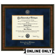 University of Michigan Diploma Frame: Presidential [Law]