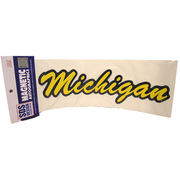 SDS University of Michigan Script Michigan Car Magnet