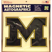 SDS University of Michigan 11 Large Block M Car Magnet