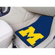 FanMats University of Michigan Block M Carpet Car Floor Mats