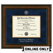 University of Michigan Diploma Frame: Presidential [Engineering]<br><b>*AVAILABLE ONLINE ONLY*</br></b>