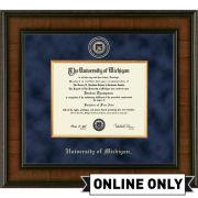 University of Michigan Diploma Frame: Presidential [PhD]