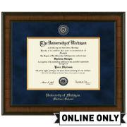 University of Michigan Diploma Frame: Presidential [Medical]