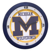 Suntime University of Michigan Round Dimension Wall Clock