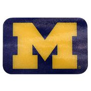 MCM University of Michigan Navy Glass Block M Cutting Board