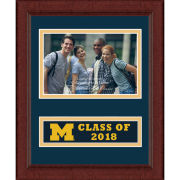 Church Hill Classic University of Michigan Class of 2018 4 x 6 Picture Frame