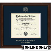 University of Michigan Diploma Frame: Church Hill Classics Embossed Lenox [Law School]<br><b>*AVAILABLE ONLINE ONLY*</br></b>