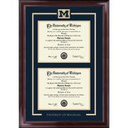 University of Michigan Diploma Frame: Spirit Encore [Dual Bachelors/Masters]