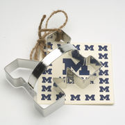University of Michigan Block M Cookie Cutter