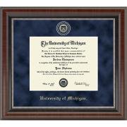 University of Michigan Diploma Frame: Church Hill Classics Regal Edition Diploma Frame [PhD]