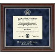 University of Michigan Diploma Frame: Church Hill Classics Regal Edition Diploma Frame [Medical School]