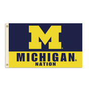 BSI Products University of Michigan Nation 3x5 Flag