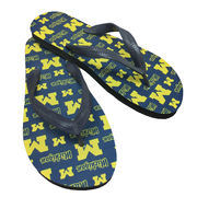 Legacy Athletic University of Michigan Pattern Flip Flops