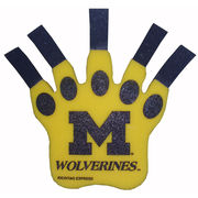 Rico University of Michigan Wolverines Yellow Foam Claw
