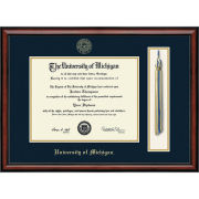 University of Michigan Diploma Frame: Church Hill Classics Southport Tassel Edition [Bachelors/Masters]