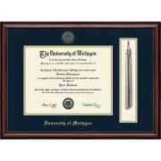 University of Michigan Diploma Frame: Church Hill Classics Southport Tassel Edition [Bachelors/Masters]