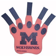 Rico University of Michigan Wolverines Pink Foam Claw