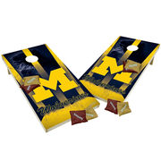 Wild Sports University of Michigan Tailgate Toss XL Bean Bag Toss Game