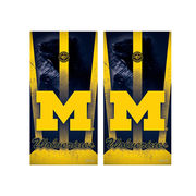 Wild Sports University of Michigan Bean Bag Toss Board Vinyl Shields