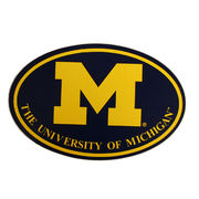 Pine University of Michigan Block M Euro Decal