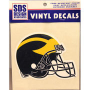 SDS University of Michigan Football 6 Helmet Vinyl Decal