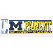 University of Michigan Parent Static Cling Decal