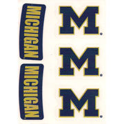 Body-Cals University of Michigan Temporary Skin Decals
