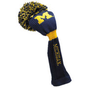 Team Golf University of Michigan Golf Pom Pon Head Cover