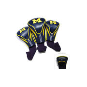 Team Golf University of Michigan Golf Club Headcover Set