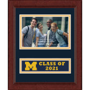 Church Hill Classic University of Michigan Class of 2021 4 x 6 Picture Frame