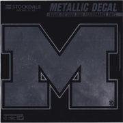 Stockdale University of Michigan Metallic Vinyl Decal